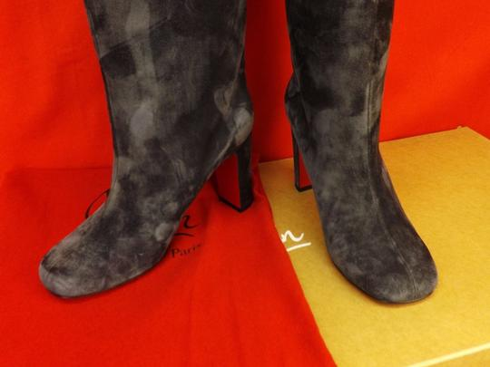 Christian Louboutin Grey Boots Image 5