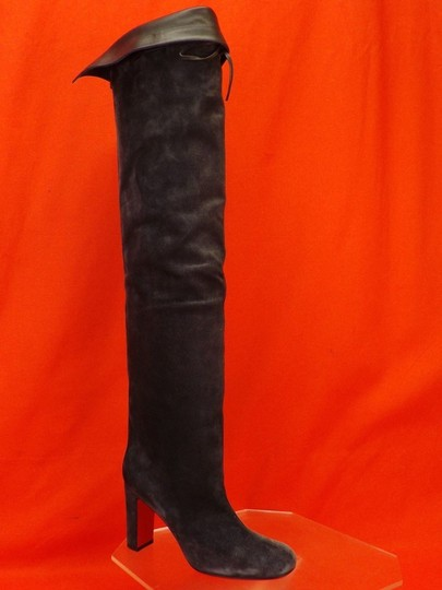Christian Louboutin Grey Boots Image 7
