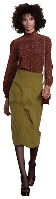 Item - Brown 36 Goat Suede Skort With Pants Size 10 (M, 31)