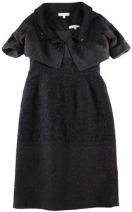 Carolina Herrera Jacket Embroidered Embellished Dress