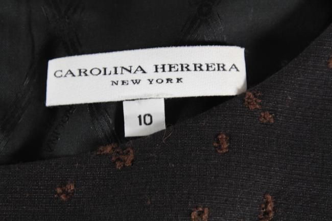 Carolina Herrera Jacket Embroidered Embellished Dress Image 5