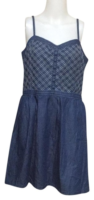 Preload https://img-static.tradesy.com/item/24554944/joe-boxer-blue-denim-short-casual-dress-size-16-xl-plus-0x-0-1-650-650.jpg