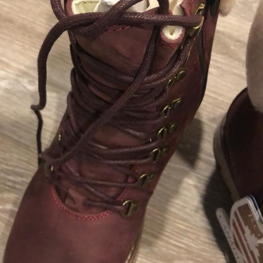 Royal Canadian burgundy Boots Image 10