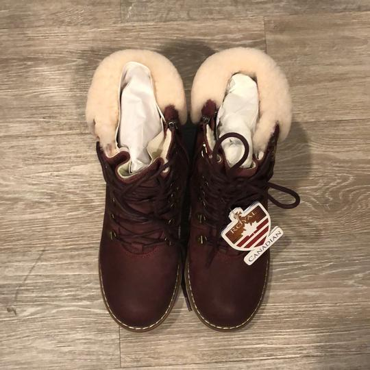 Royal Canadian burgundy Boots Image 2