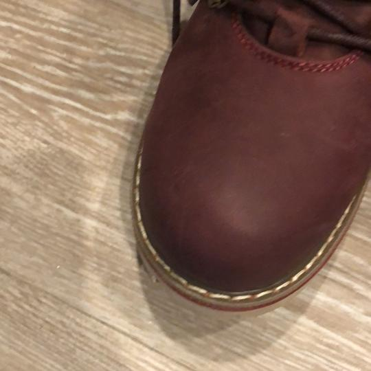 Royal Canadian burgundy Boots Image 11
