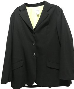 Chico's BLACK AND LIME GREEN Jacket