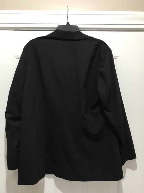 Chico's BLACK AND LIME GREEN Jacket Image 2