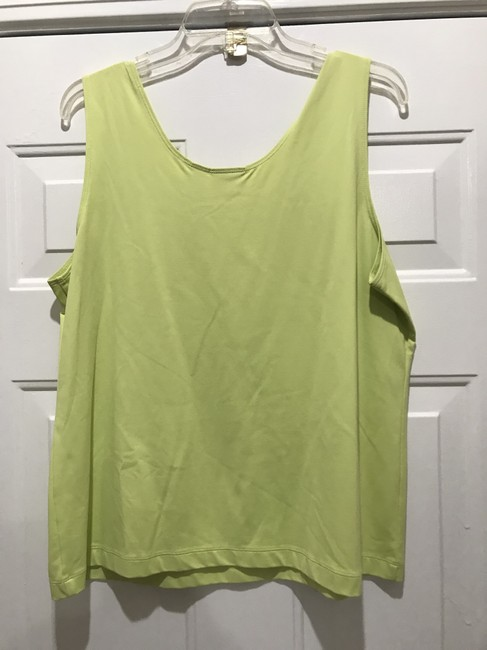 Chico's BLACK AND LIME GREEN Jacket Image 3