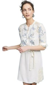 Tiny Anthropologie Embroidered Small Petite New With Tags Tunic