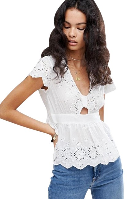 Preload https://img-static.tradesy.com/item/24555034/free-people-nwt-truly-yours-blouse-size-8-m-0-1-650-650.jpg