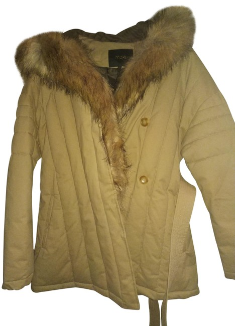Preload https://img-static.tradesy.com/item/24555046/maje-beige-brown-40-faux-fur-puffed-with-assymetryc-closure-coat-size-8-m-0-1-650-650.jpg