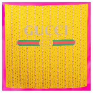 05803c78c73 Yellow Gucci Scarves & Wraps - Up to 70% off at Tradesy