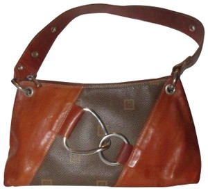 Texier Excellent Vintage High-end Bohemian France Equestrian Accents Camel Leather/Chrome Hobo Bag
