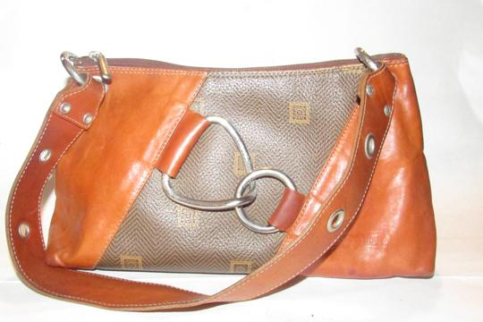 Texier Excellent Vintage High-end Bohemian France Equestrian Accents Camel Leather/Chrome Hobo Bag Image 3