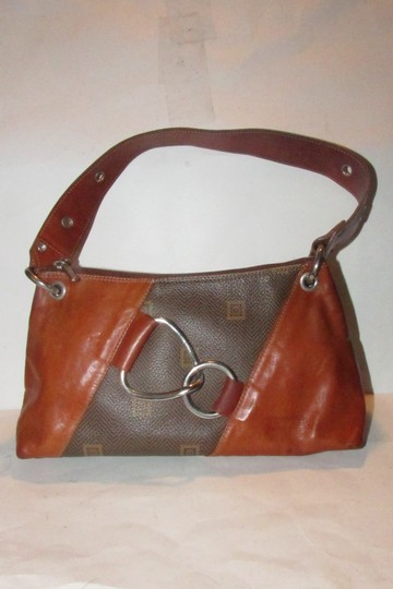 Texier Excellent Vintage High-end Bohemian France Equestrian Accents Camel Leather/Chrome Hobo Bag Image 6