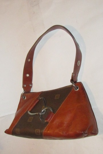 Texier Excellent Vintage High-end Bohemian France Equestrian Accents Camel Leather/Chrome Hobo Bag Image 9