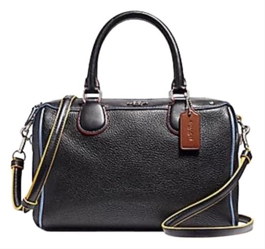 Preload https://img-static.tradesy.com/item/24555192/coach-bennett-new-f22237-mini-colorblock-purse-silverblac-silverblack-multi-leather-satchel-0-1-540-540.jpg