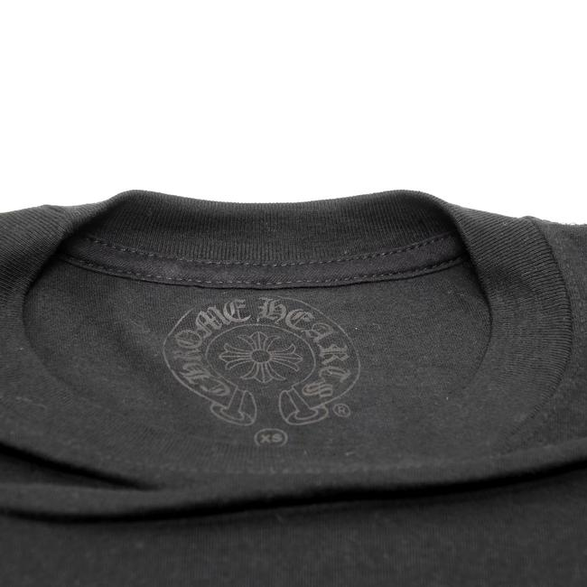 Chrome Hearts La Influencers Monogram Everyday Wear Streetwear Goth T Shirt Black Image 4