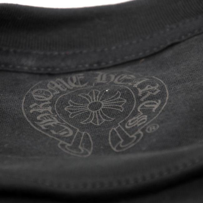 Chrome Hearts La Influencers Monogram Everyday Wear Streetwear Goth T Shirt Black Image 5
