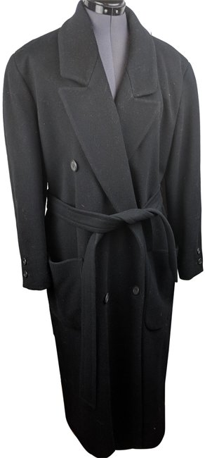 Anne Klein Vintage Retro Peacoat Trench Coat Image 0