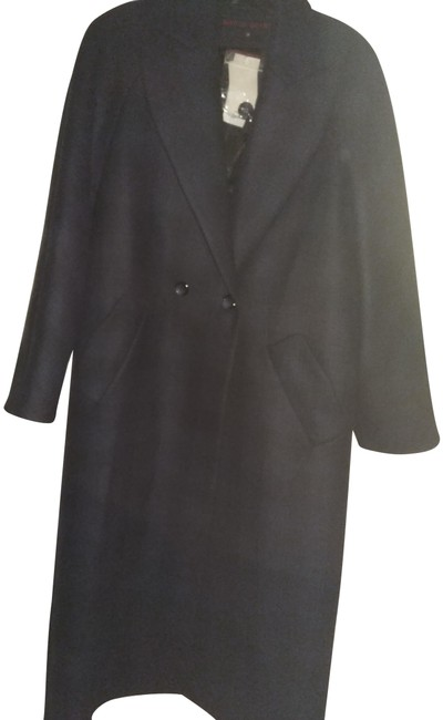 Preload https://img-static.tradesy.com/item/24555309/martin-grant-navy-black-38-men-s-oversized-checked-fabric-coat-size-12-l-0-1-650-650.jpg