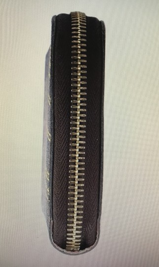 Louis Vuitton Limited Edition Brown Damier Ebene Coated Canvas Zippered Wallet Image 7