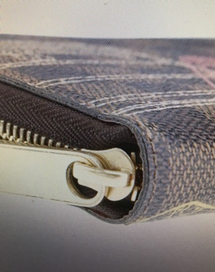 Louis Vuitton Limited Edition Brown Damier Ebene Coated Canvas Zippered Wallet Image 8