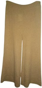 Ryan Roche Wide Leg Pants Tan