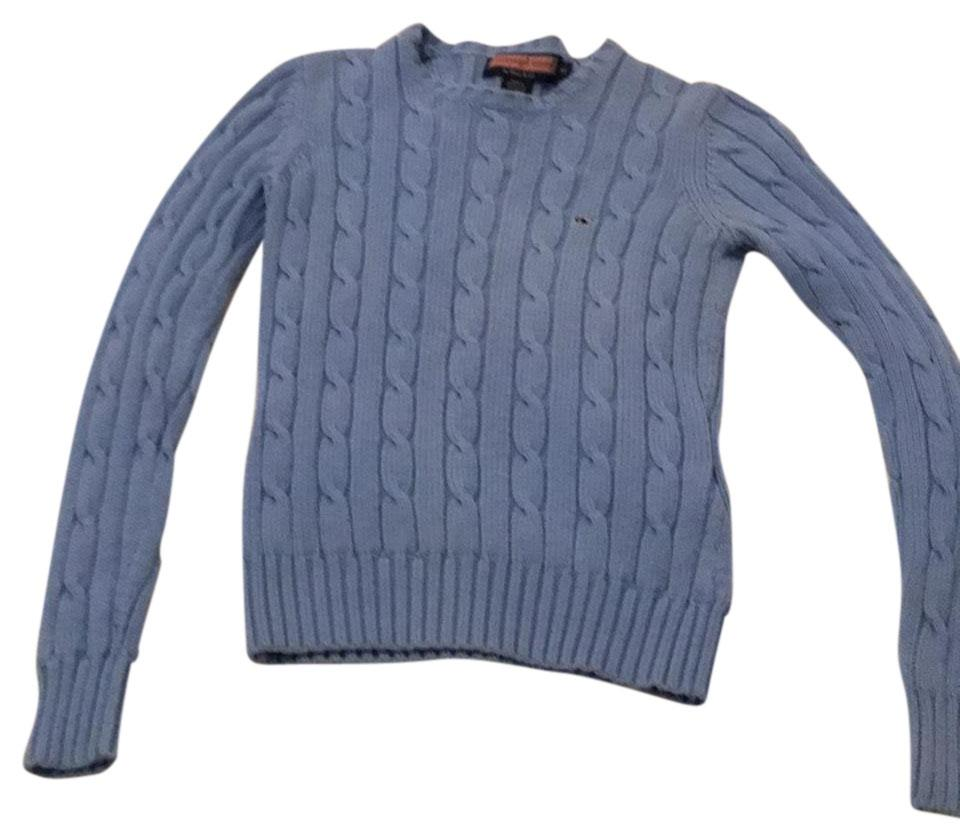 b3ce9b15a39 Cable Knit Light Blue Sweater