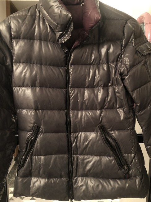 Item - Gray Quilted Puffer Jacket Coat Size 0 (XS)