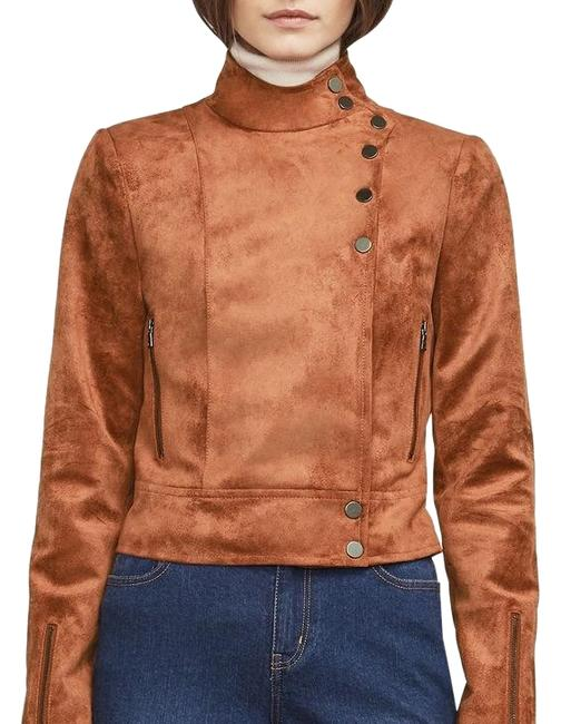 BCBGMAXAZRIA Leather Jacket Image 0