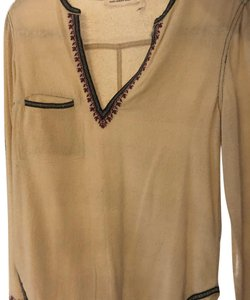 Étoile Isabel Marant Embroidered Cotton Embroidered Tunic