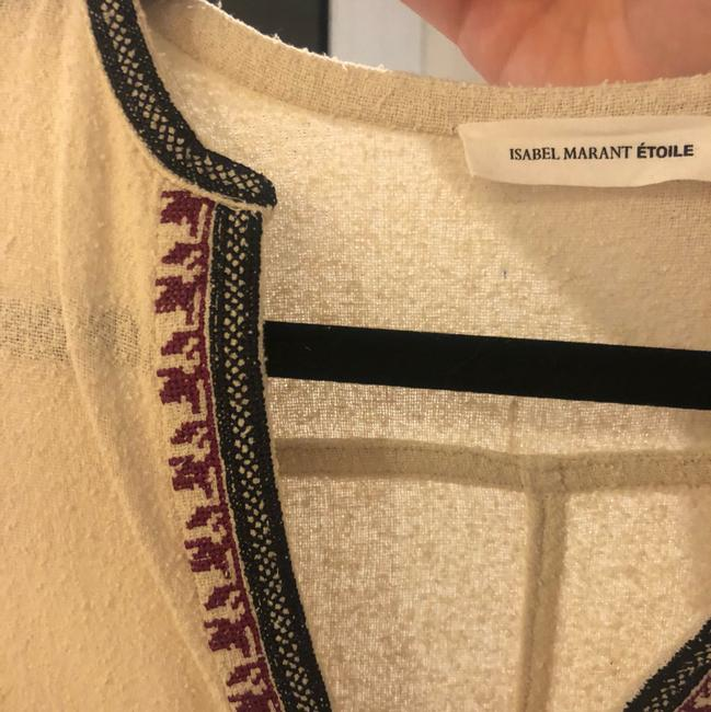 toile Isabel Marant Embroidered Cotton Embroidered Tunic Image 2