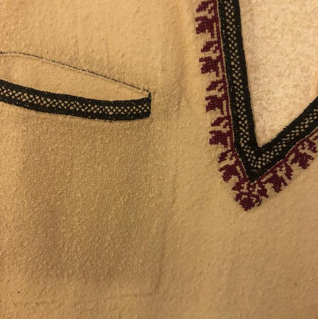 toile Isabel Marant Embroidered Cotton Embroidered Tunic Image 4