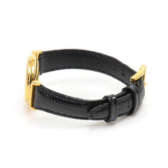 Fendi Fendi Alligator Embossed Leather & Gold-tone Hardware Quartz Watch Image 3
