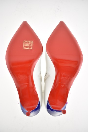 Christian Louboutin Stiletto Ankle Classic Love white Boots Image 11