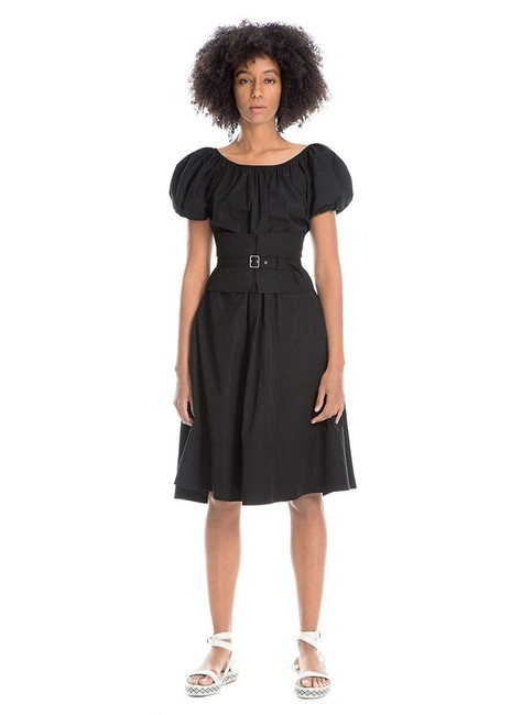 Preload https://img-static.tradesy.com/item/24555543/max-studio-black-belted-stretch-poplin-puffed-sleeves-mid-length-cocktail-dress-size-10-m-0-0-650-650.jpg