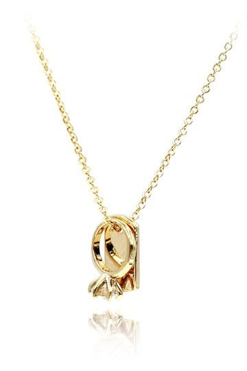 Preload https://img-static.tradesy.com/item/24555599/gold-925-square-brand-crystal-ring-necklace-0-0-540-540.jpg
