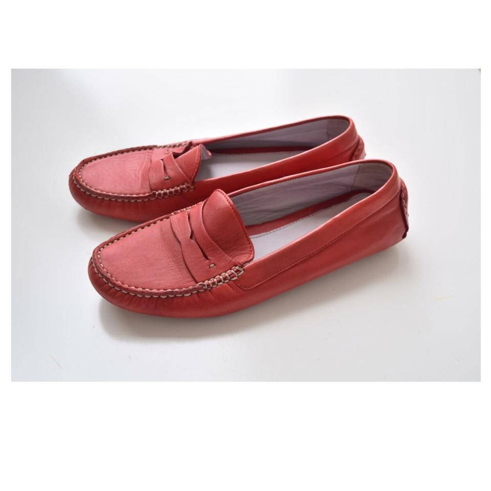 559521d704a Johnston   Murphy Red Penny Loafers Flats Size US 7 Regular (M