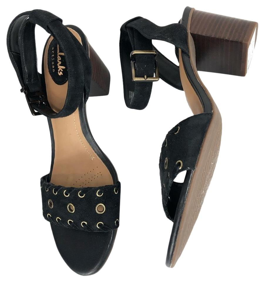 2cda73b39114 Clarks A Black Sandals. Size  US 9 Regular (M ...