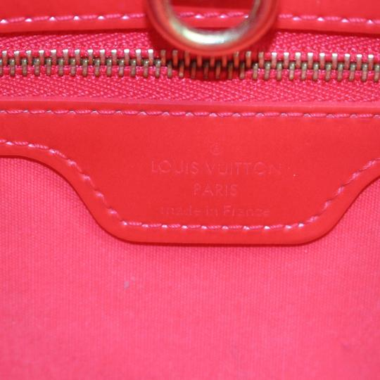 Louis Vuitton Luco Vavin Sac Neverfull Willshire Tote in Red