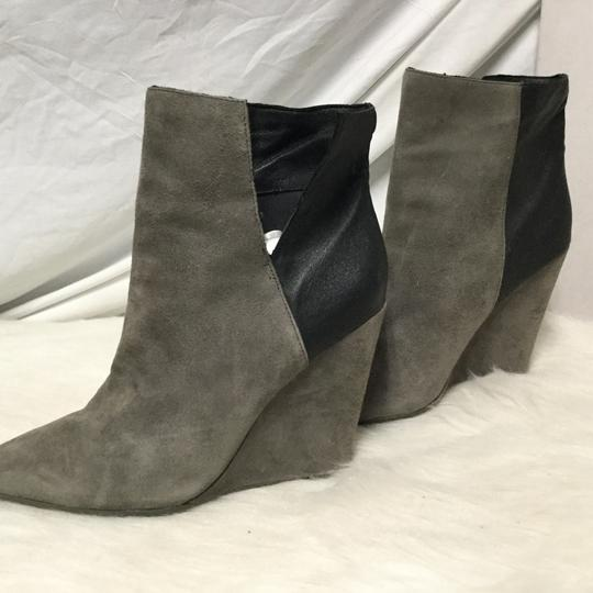 Rebecca Minkoff Gray and black Boots