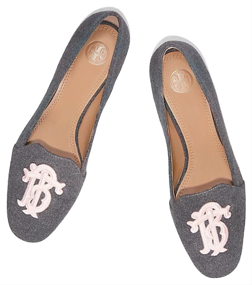 d492017e1f39 Tory Burch Gray Heather Antonia Loafer Flats Size US 7 Regular (M