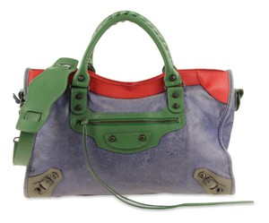 Balenciaga Twiggy Town First Sunday Towny Satchel in Multicolor