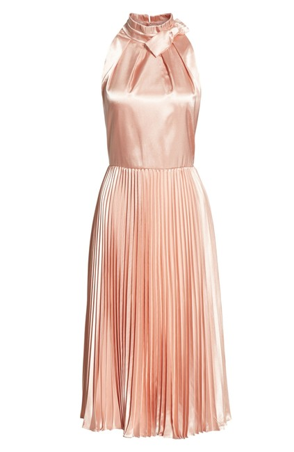 Preload https://img-static.tradesy.com/item/24556401/ted-baker-pink-rose-gold-satin-shineey-bow-pleated-midi-mid-length-cocktail-dress-size-12-l-0-3-650-650.jpg
