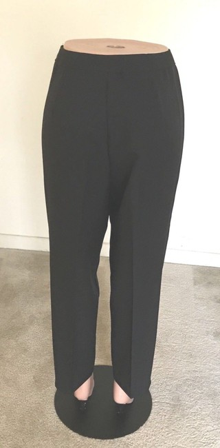 Bend Over Straight Pants Black