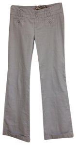 Daughters of the Liberation Wide Leg Pants Light Gray