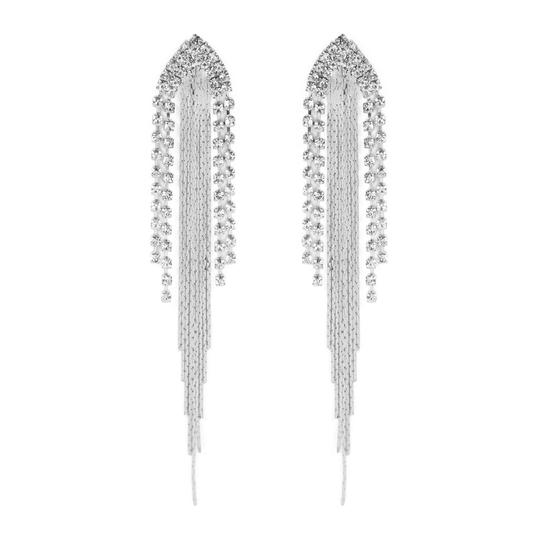 Preload https://img-static.tradesy.com/item/24556560/silver-center-chain-fringe-earrings-0-0-540-540.jpg