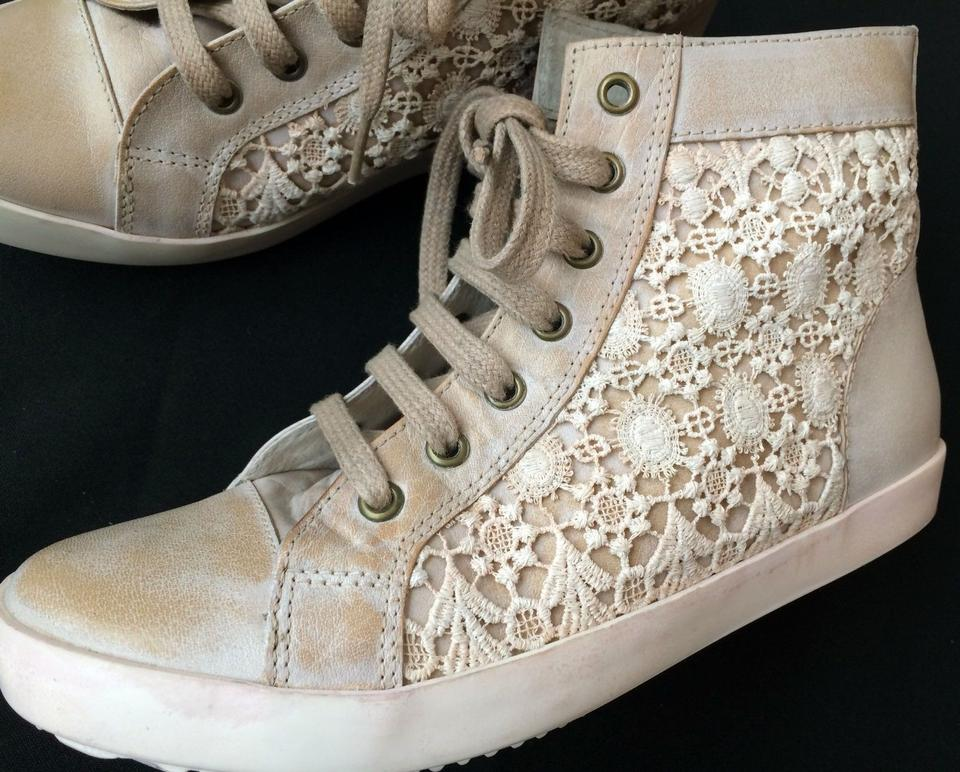 19a880785 Free People Hitops Sneaker Sneakers Booties Sneakers Anthropologie Crochet  Floral Lace Athletic Image 0 ...