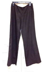 Sisley Wide Leg Pants Brown
